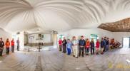 Bohoslužba v kostele v Curraj i Epërm