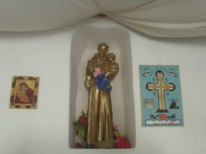 A statue of St. Joseph.