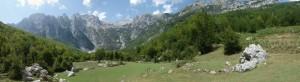 Mountains near Vranë.